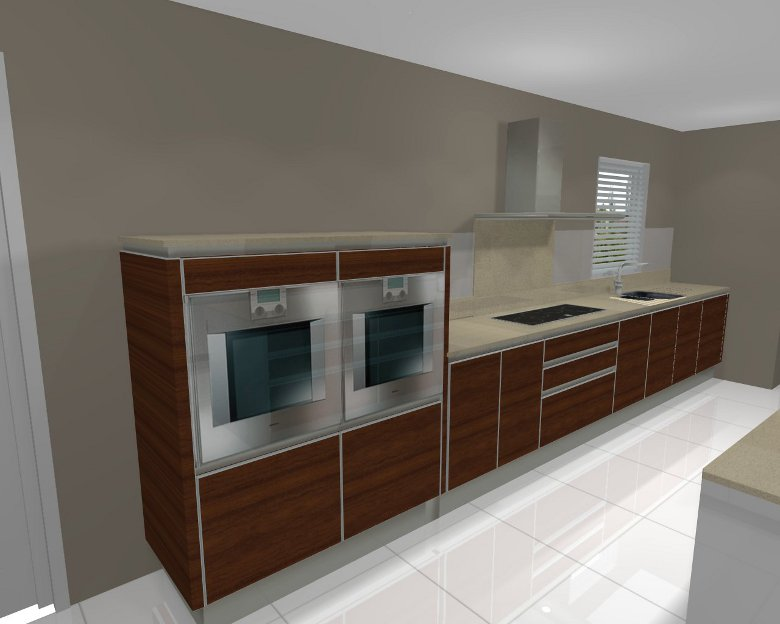 Raymac professionally designed bathrooms and kitchens for Eye level oven kitchen designs